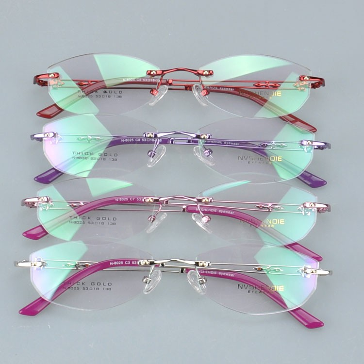n8025he colorful phantom optical eyewear frame