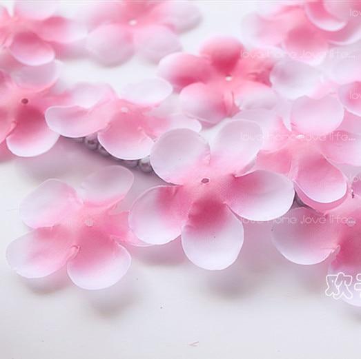 1000pcs Rose Petals Simulation Cherry Blossom Petals