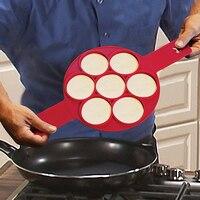 New 2017 Non Stick Flippin Fantastic Nonstick Pancake Maker Egg Ring Maker Kitchen