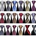 """Corbata para Los Hombres de Negocios Formal Del Banquete de Boda de Accesorios de Hombre Sólido Geométrico Jacquard Tejido Corbata De Seda Corbatas (3 """"/7.5 cm) ST75031-78"""