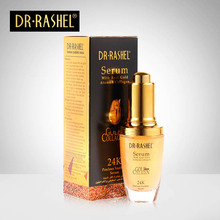 2 pcs 24K Gold Collagen Elastin Serum Anti Wrinkle Moisturizing Essence Whitening Face Ageless Skin Care DRRASHEL