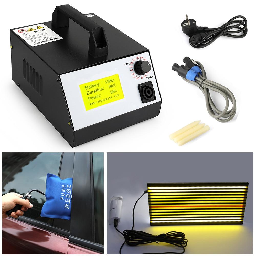 Pdr-007 Hot-box PDR с ручной насос водителя LED Lihgt лампы индукционный нагреватель для удаления вмятин Металлические инструменты дент ремонт woyo