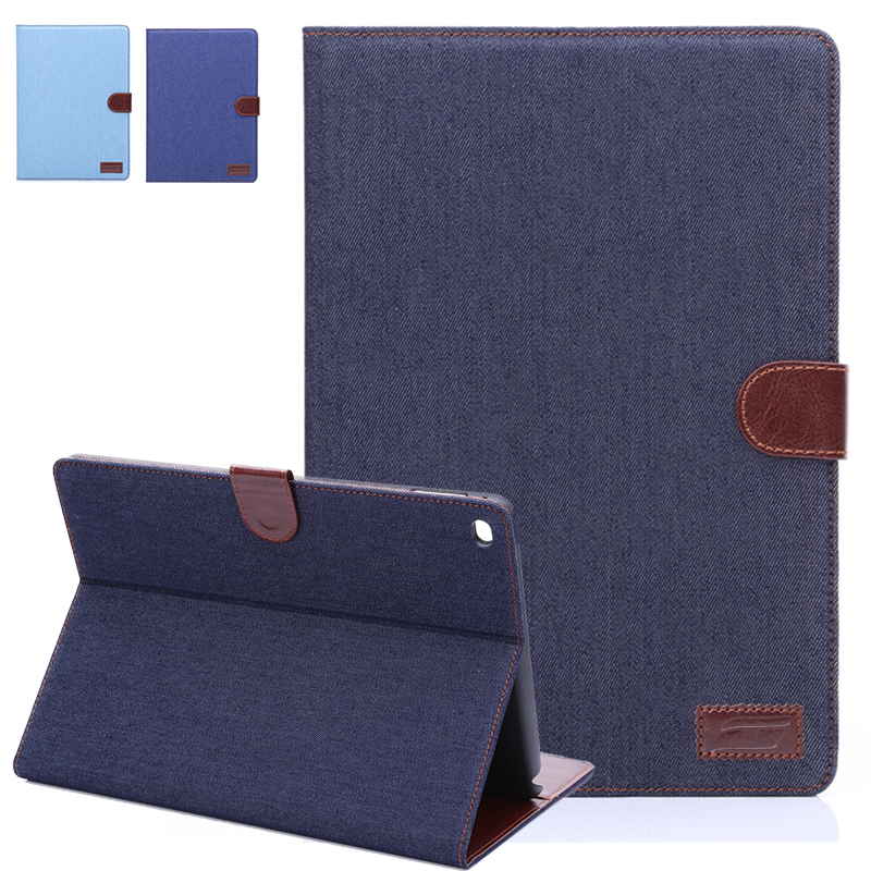 Denim WeFor Case For Apple iPad Air 2 Smart Flip w Card Money Slots w Screen