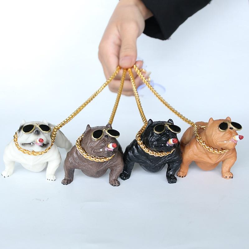 Creative Personality High Grade Car Dog Decoration Ornaments Interior Fashion Simulation Doll Accessories