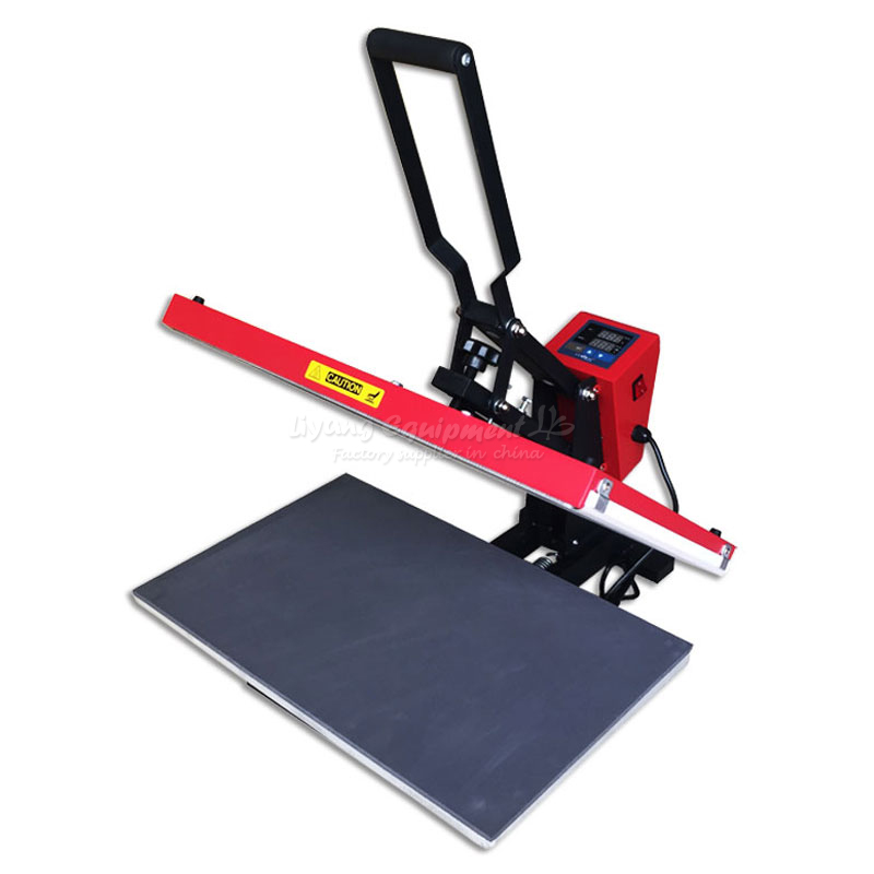Garment Heat Press Machine 40*60CM High Pressure Thermal Transfer Equipment Hot Stamping Machine Hot Transfer Machine synthetic graphite cooling film paste 300mm 300mm 0 025mm high thermal conductivity heat sink flat cpu phone led memory router