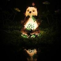 Precio Luces Led panda al aire libre impermeables de bajo voltaje luces de paisaje Parque patio luces