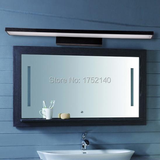 Dimmable 80 cm long SMD5730 led wall lamp modern minimalist bathroom mirror light , waterproof fog-against makeup wall sconce. modern minimalist waterproof antifog aluminum acryl long led mirror light for bathroom cabinet aisle wall lamp 35 48 61cm 1134