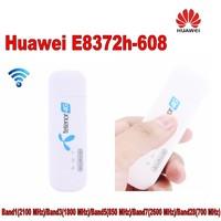 Открыл новый huawei E8372 E8372h-608 с антенной 4G LTE 150 Мбит/с USB Wi-Fi модем 4G LTE USB Wi-Fi Dongle 4G модем carfi PK E8377