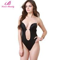 Lover Beauty Waist Shaper Slimming Body Shapers Women S U Plunge Bra Body Suit Backless Shaper