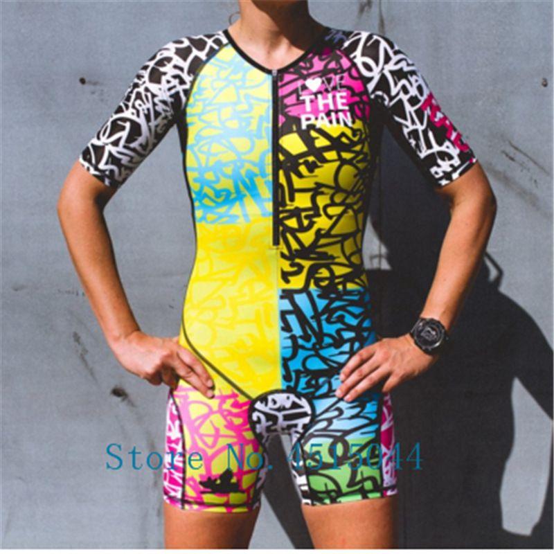 Love the pain Triathlon skinsuit aero Radfahren Kleidung Ciclismo Verpflichten benutzer ausweichen Spanish national team