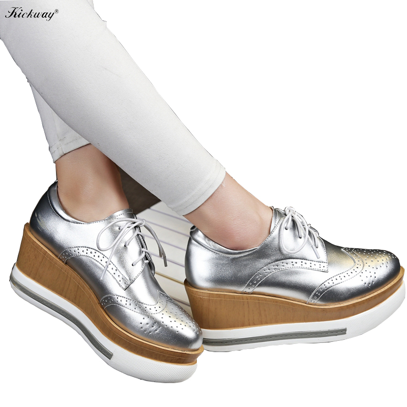 New 2017 spring summer women pumps high heels Women wedge shoes plus size 34-43 women shoes round toe genuine leather drop 749 new 2017 spring summer women shoes pointed toe high quality brand fashion womens flats ladies plus size 41 sweet flock t179