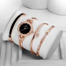 Модные Роскошные Брендовые женские часы браслет из нержавеющей стали аналоговые кварцевые круглые наручные женские часы Reloj Mujer bayan kol saati