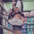 Bolso de las mujeres 3D Animal de la Impresión Del Bolso de Hombro femininas gato correa femenina handbang pochette bolso mujer bolsos de san valentín