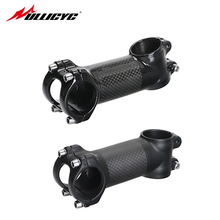 Withlogo Aluminum Carbon Stem Leagth 6/17 Degree 60/70/80/90/100/110/120mm Road Bike Faucet Bicycle Parts 3K Matte/gloss LGA48 carbon stem krsec t800 28 6 31 8mm 6 degree road mtb 3k gloss carbon fiber stems bike parts 90 100 110mm bicycle stem