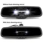Авто затемнение 4,3 TFT lcd HD 800*480 специальный кронштейн автомобильная парковка заднего вида зеркало монитор для Toyota Kia hyundai Nissan - 3