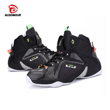 ALDOMOUR Cheap Basketball Shoe High Quality Sneakers Basketball Boots Back to the Future Shoes For Plus Chaussures De Shoe 9308