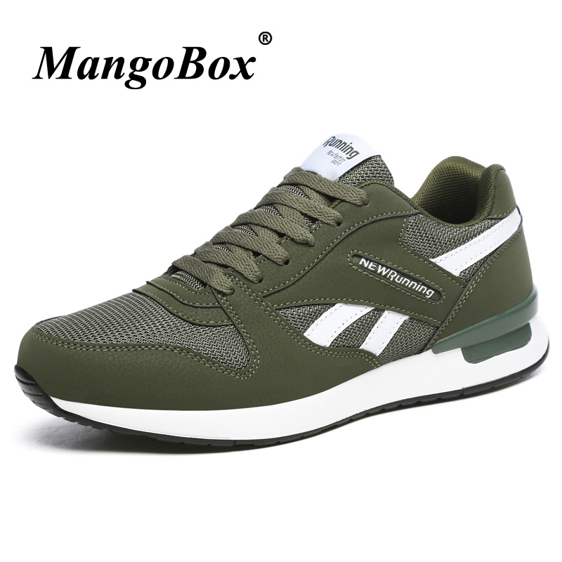 2018 Original Men Shoes Mesh Breathable Mens Sports Shoes Running Luxury Brand Mens Runners Lace Up Designer Mens Gym Trainers
