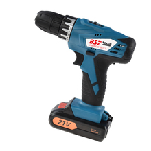 цена на 21V Lithium Battery  2 Speed Cordless Drill Mini Drill Hand Tools Electric Drill Power Tools Screwdriver