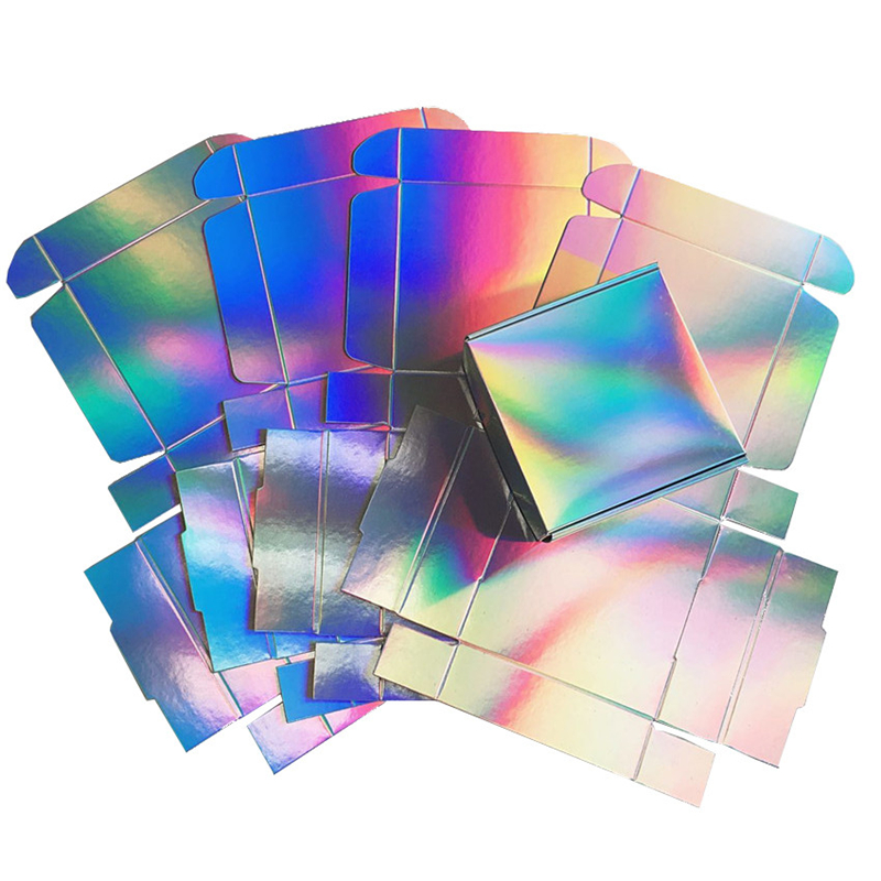 Holographic Gift Box For Party, Wedding Souvenir Box, 2 Size Available, 20pcs/lot