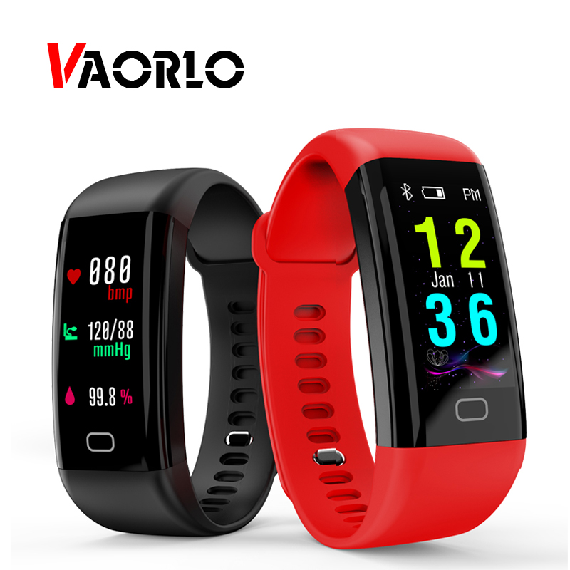 VAORLO Waterproof Smart Bracelet Heart Rate Monitor Blood Pressure Fitness Tracker Smartband Sport Watch Talk Band ios android m88 smart band blood pressure wrist watch pulse meter monitor cardiaco fitness tracker smartband for ios android bracelet