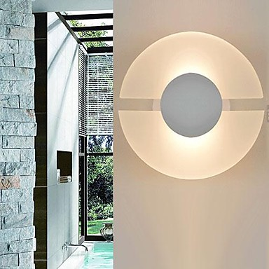 ФОТО led Wall Sconces, 1 Light Simple,Modern Artistic ,white,Bulb Included