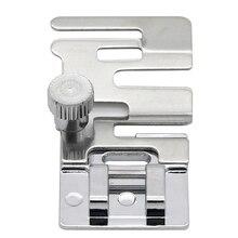 1x cinta de cordón elástico DIY tela estiramiento doméstico máquina de coser prensatelas de pie máquina de tejer a presión accesorios de herramienta de coser