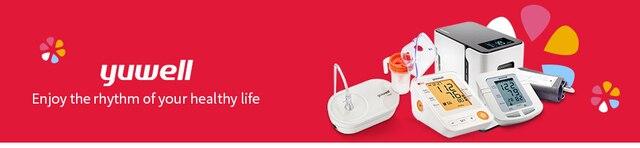 Цифровой ЖК монитор артериального давления на руку yuwell ye670d