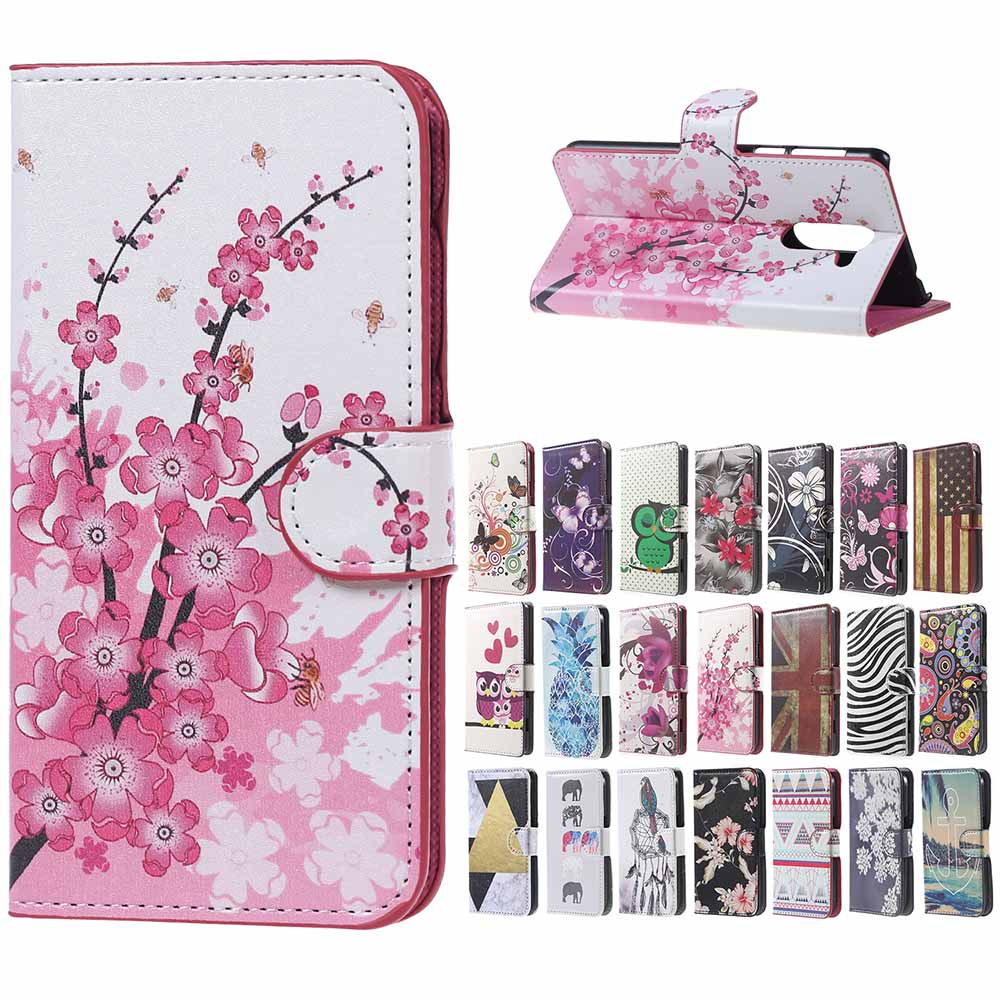 For <font><b>Huawei</b></font> 6X <font><b>case</b></font> pink plum Leather wallet Stand cover <font><b>Case</b></font> For <font><b>Huawei</b></font> <font><b>honor</b></font> 6x <font><b>6</b></font> x 5.5 inch mobile <font><b>phone</b></font> <font><b>Case</b></font> coque bags