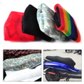 1PC Summer Cool 3D Waterproof Breathable Anti-slip Resilient Mesh Seat Cover Cushion fit for Motorcycle Scooter Moped Seat Cover