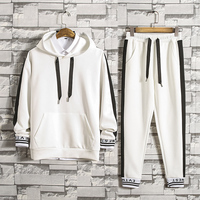 2018 New Spring And Autumn Tracksuit Man And Women Fashion Brand Tracksuits Outwear 2 Pieces Set