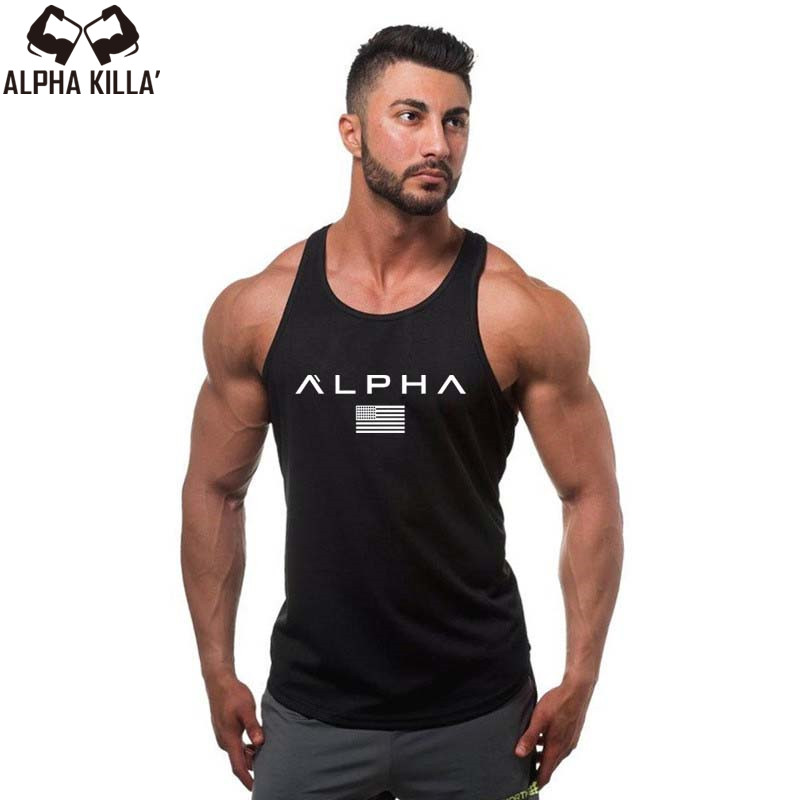 2018 Men Summer gyms Fitness bodybuilding Hooded Tank Top fashion mens Crossfit clothing Loose breathable sleeveless shirts Vest(China)