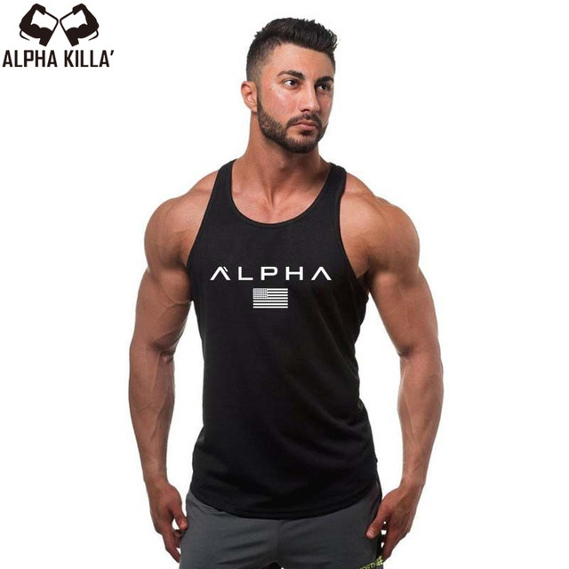 6994186ada0 2018 Men Summer gyms Fitness bodybuilding Hooded Tank Top fashion mens  Crossfit clothing Loose breathable sleeveless shirts Vest