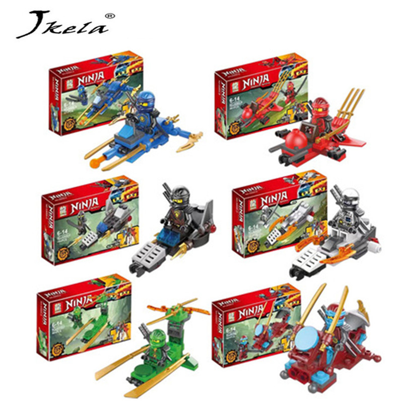 [Jkela] 1 Ninjagoes Dragon Building Block KAI JAY COLE ZANE Lloyd WU NYA GARMADON Ninja Toys Compatible with Legoingly 2018 hot ninjago building blocks toys compatible legoingly ninja master wu nya mini bricks figures for kids gifts free shipping