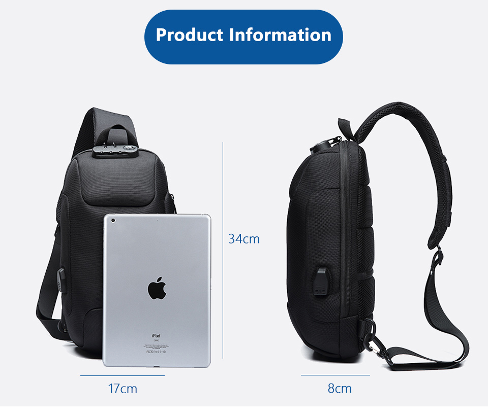 Anti-theft Multi function Waterproof Bag