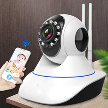GCCAC IP Camera WiFi Home Security Wireless Wi Fi Cam HD 1080P Night Vision IPCam For Pet Nanny Baby Monitor Smart Wi-Fi Camera
