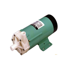лучшая цена MP-15R  Marine Water Treatment /Metal Industry Use Engineering Plastic Magnetic Pump Acid Resistant Chemical Pump