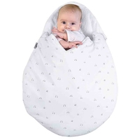 Newborn Baby Cartoon Egg Shape Sleeping Bag Winter Stroller Bed Swaddle Blanket Wrap Bedding Sleep Bag Thick Infant Warm Swaddle