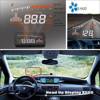 Car HUD Head Up Display For Peugeot 607 806 807 Safe Driving Screen Projector Inforamtion Refkecting Windshield