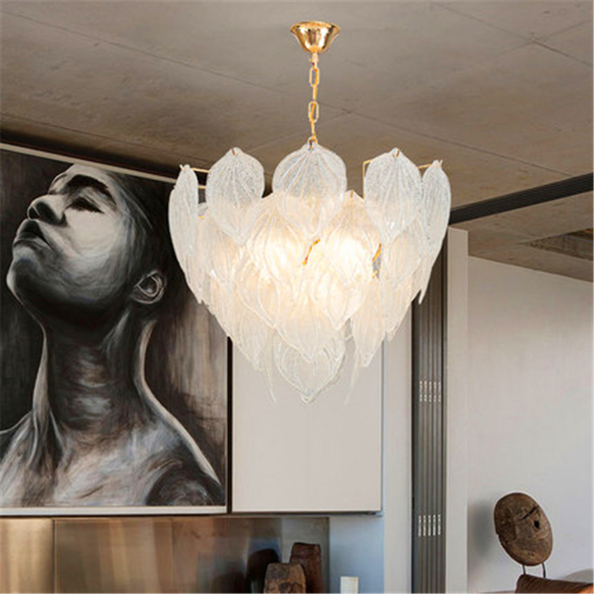 Modern Loft Glass Pendant Lamp Lighting Kitchen Fixtures Pendant Light Bedroom Living Room Interior Decor Hanging Lamp Luminaire