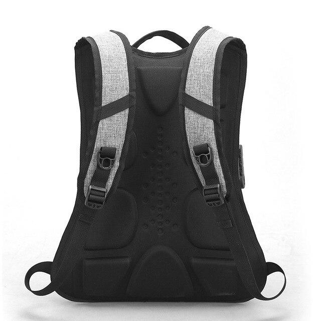 Crossten Anti-theft External USB Charge Laptop Bag Waterproof 16 2