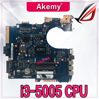 Akemy P552LA Mainboard For ASUS P552 P552L P552LA P552LJ Laptop Motherboard 100% Tested With I3-5005 CPU GT920M 2GB