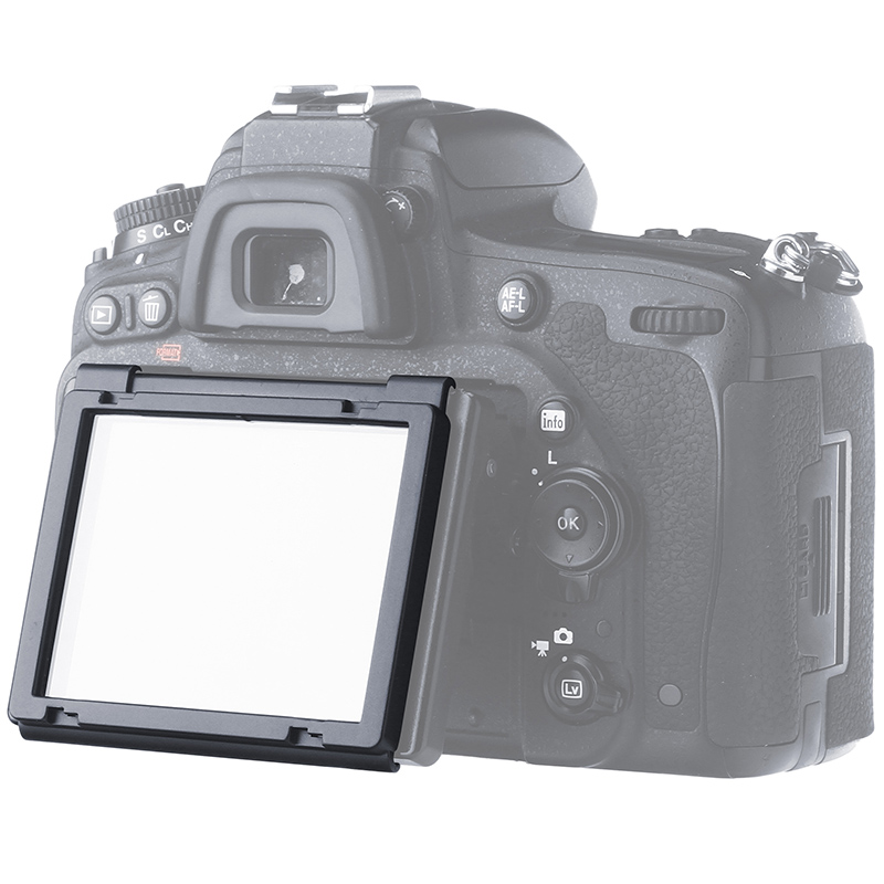GGs Iv 0,3 Mm Autoadhesivo Vidrio Larmor Protector De Pantalla ggs4 Para Nikon D800