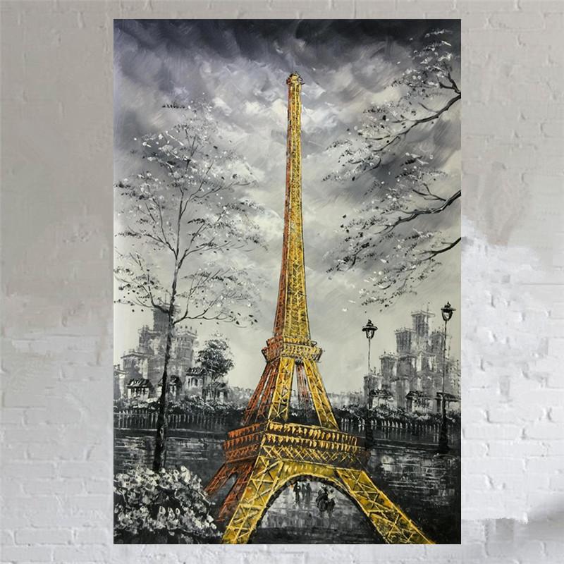 noir et blanc paysage peintures-achetez des lots à petit prix noir