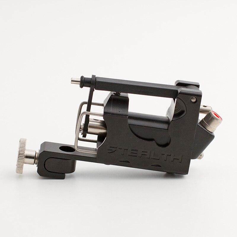 New high quality black STEALTH Generation 2.0 SET Aluminum Rotary Tattoo Machine Liner&Shader tattoo gun GXJ