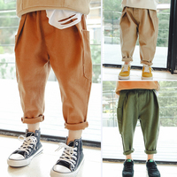 Spring 2018 Spring Clothes Korean Version Casual Pants Boys 100 Trousers Baby Fashion Harlan Trousers