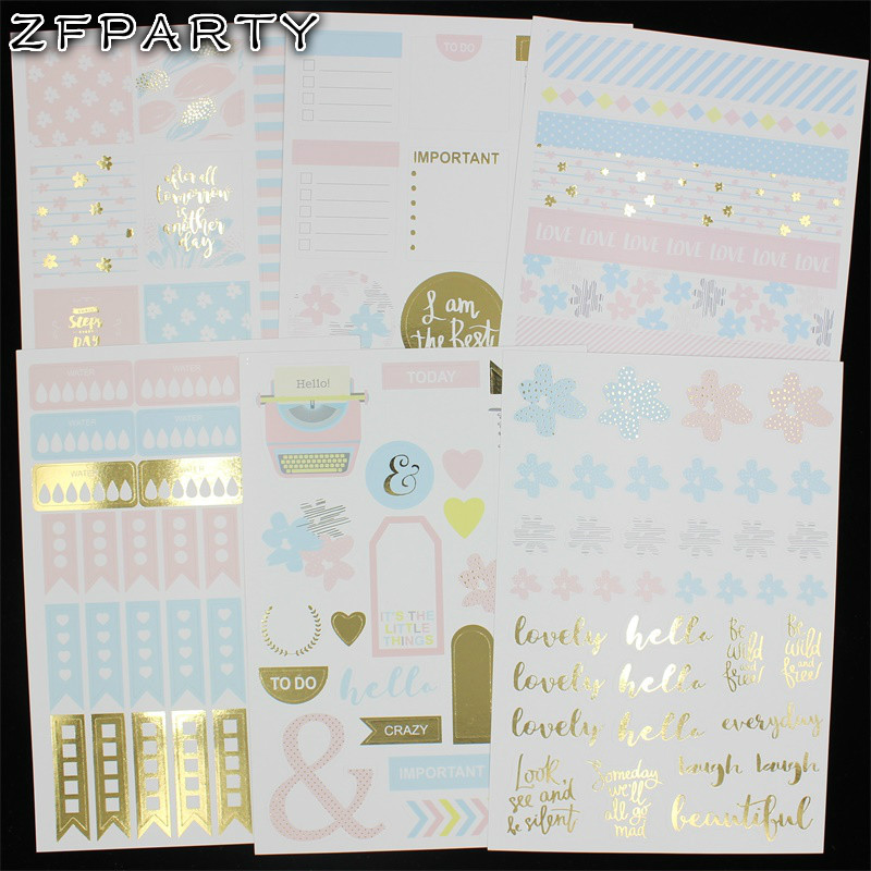 ZFPARTY Time To Travel Self- adhesive Paper Sticker for Scrapbooking/ DIY Crafts/ Card Making Decoration
