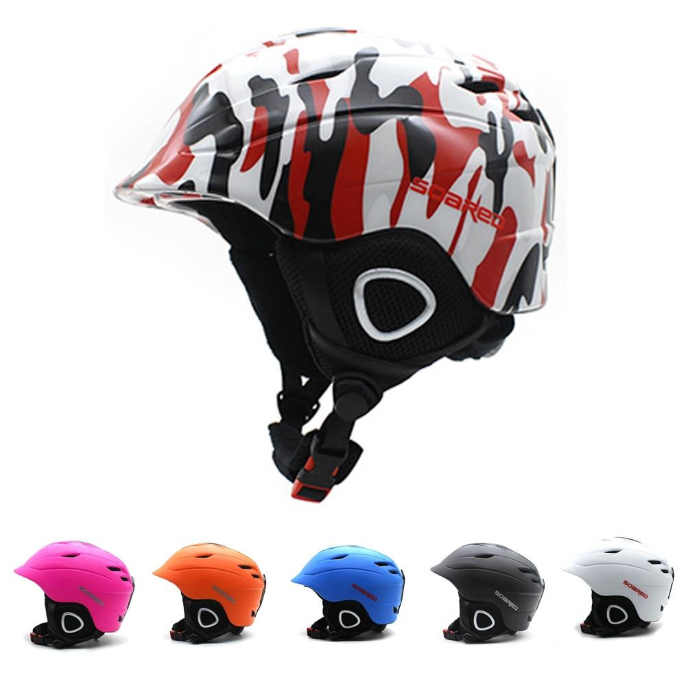 2-en-1 Convertible Ski Snowboard casque/vélo Skate casque adultes & enfants 4 tailles avec Mini visière, Parent-enfant correspondant tenue