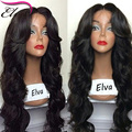 180% Full Lace Human Hair Wigs For Black Women Front Lace Wigs Body Wave Glueless Lace Front Human Hair Wigs Peruvian Wavy Wig