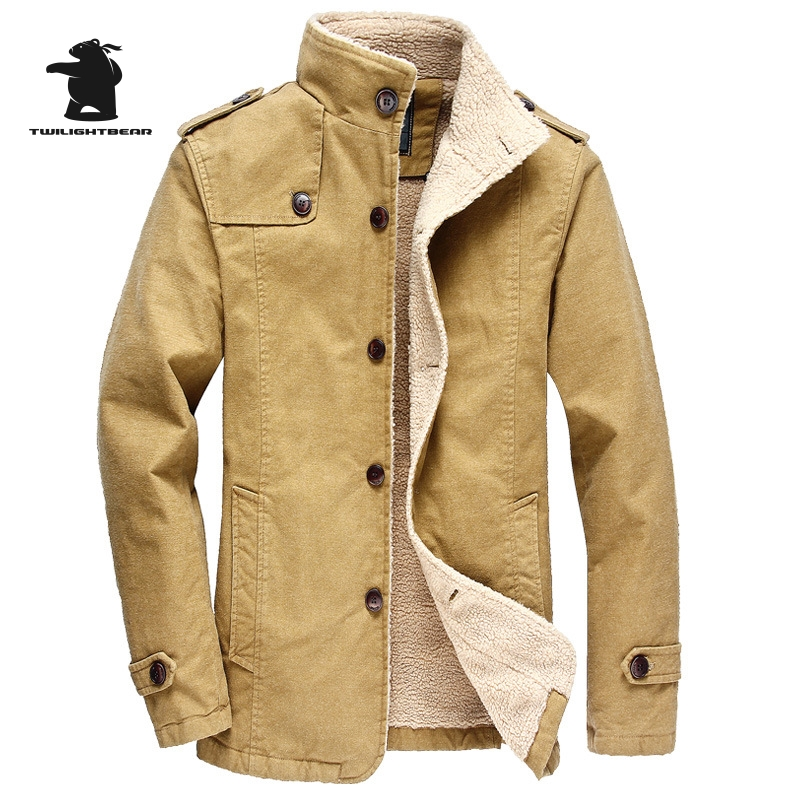 High Quality men s Cotton Jacked 2016 Winter Fashion Thicken Plus Size Casual Winter Jacket Coat