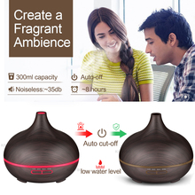 Ultrasonic Air Humidifier Aroma Essential Oil